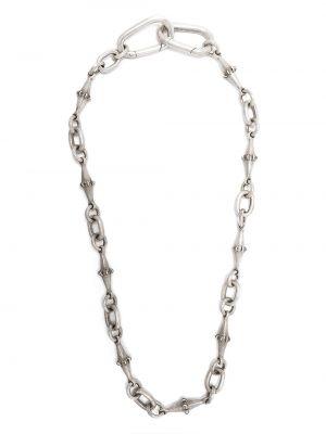 Srebro łańcuch ze srebra na hakach Parts Of Four
