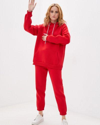 Костюмный красный спортивный костюм Blacksi
