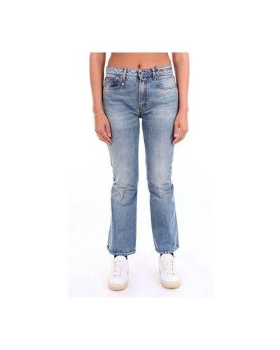 Wielokolorowe jeansy bootcut R13