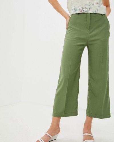 Широкие брюки - зеленые Vladi Collection