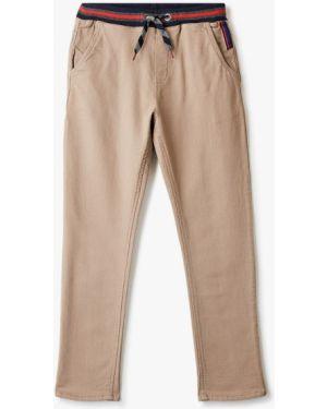 Бежевые брюки Catimini