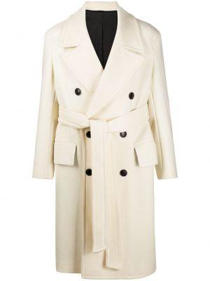Ciepły płaszcz wełniany z długimi rękawami Ami