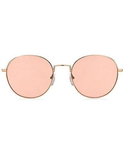 Зеленые солнцезащитные очки круглые металлические Marc Jacobs