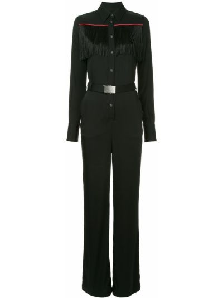 Шелковый комбинезон - черный Ck Calvin Klein
