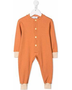 Piżama z długimi rękawami - pomarańczowa Eshvi Kids