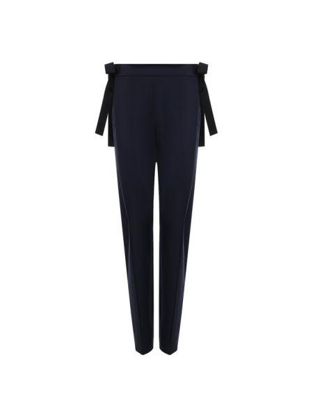 Классические брюки со стрелками в рубчик Oscar De La Renta