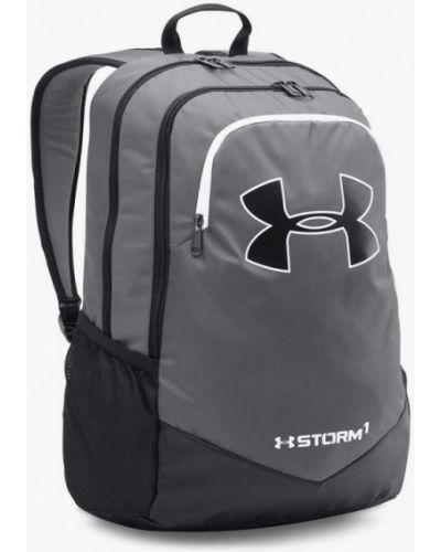 Серый рюкзак текстильный Under Armour