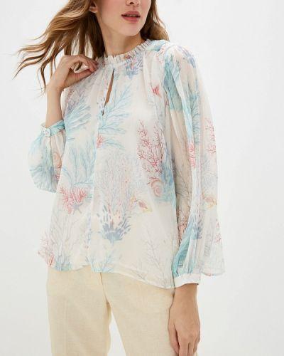 Блузка с длинным рукавом белая индийский Pepe Jeans