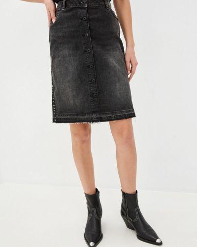 Серая джинсовая юбка Scotch&soda