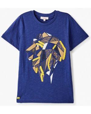 Синяя футболка Catimini