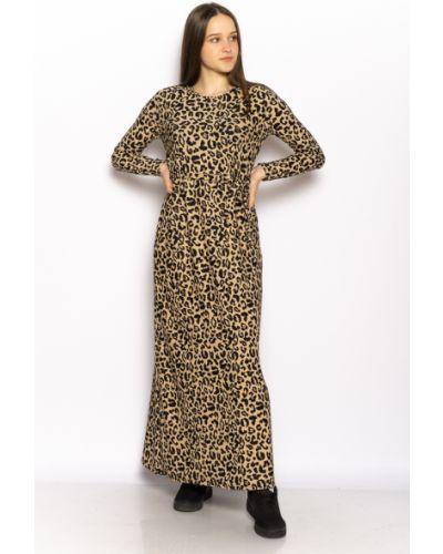 Платье макси с длинными рукавами Time Of Style