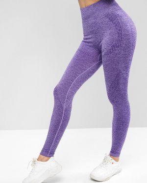 Леггинсы для йоги фиолетовый Zaful