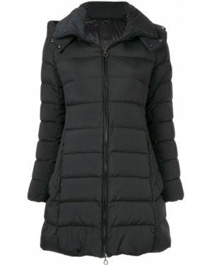 Прямая черная нейлоновая куртка с капюшоном Tatras