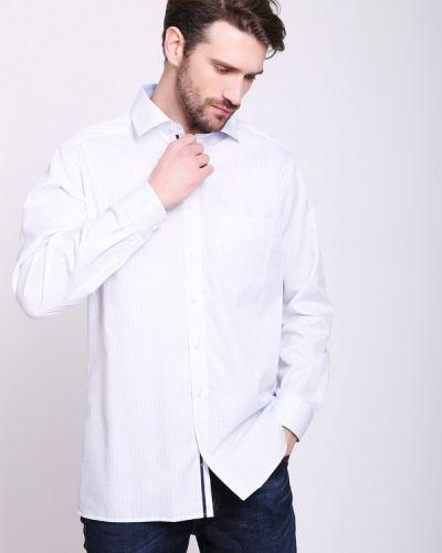 b1e264a2657f94b X-moda. Рубашка с длинным рукавом хлопковая белый Olymp