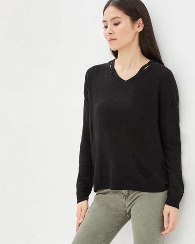 Черный пуловер Jacqueline De Yong