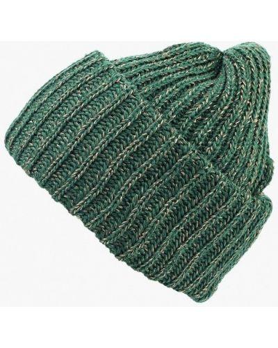 Зеленая шапка осенняя Fete
