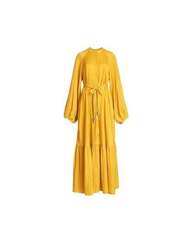Желтое вечернее платье Essentiel