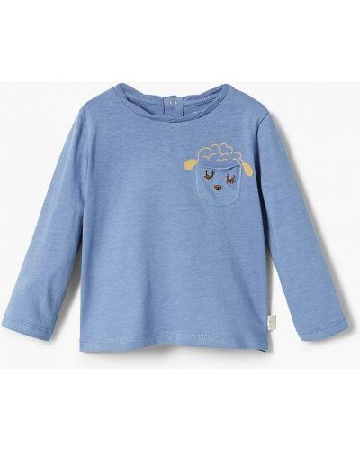 Синяя блуза Mango Kids