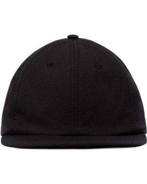 Czarna czapka do biegania wełniana Satisfy