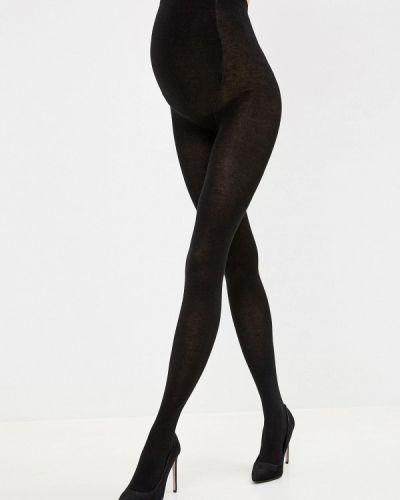 Черные колготки для беременных Мамин дом