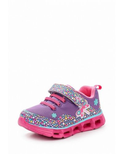 Фиолетовые кроссовки из искусственной кожи Kakadu