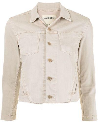 Ватная с рукавами длинная куртка с воротником L'agence