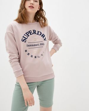 Толстовка розовый Superdry