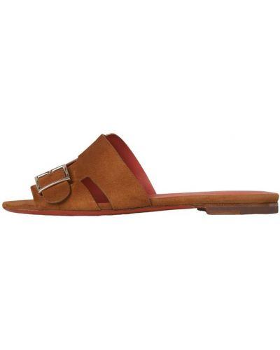 Brązowe sandały Santoni