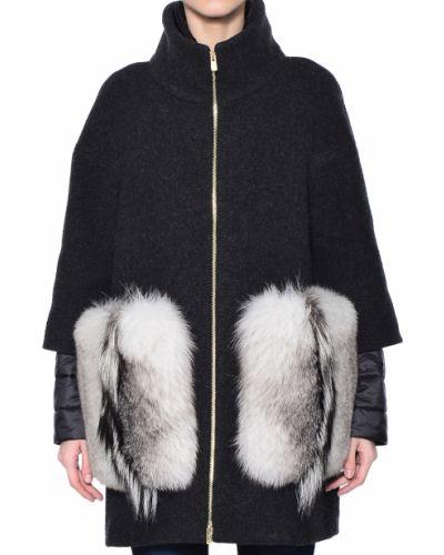 Пальто с капюшоном Montecore