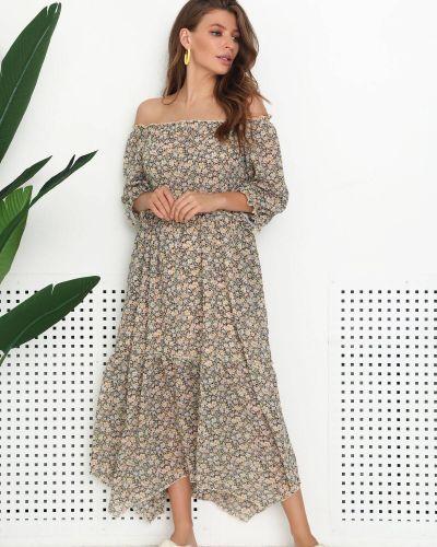 Платье с принтом Nenka