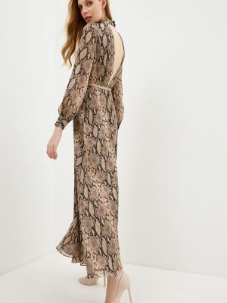 Коричневое платье Lusio