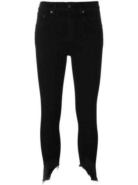 Зауженные джинсы - черные Rag & Bone/jean