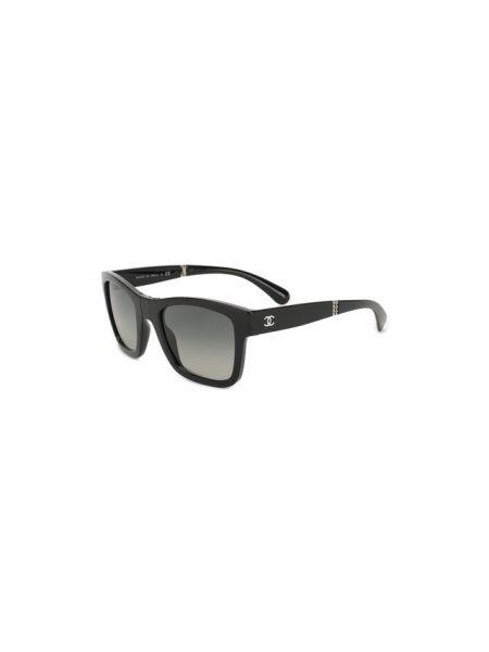 Комбинированные нейлоновые солнцезащитные очки квадратные Chanel