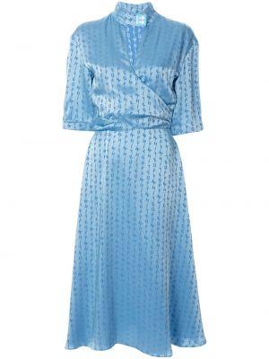 Платье мини миди с запахом Off-white