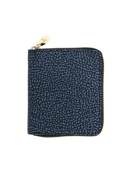 Niebieski portfel Borbonese