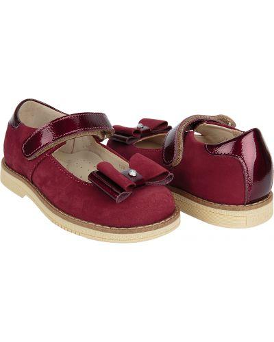Туфли красные бордовый Tapiboo
