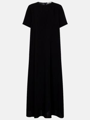 Черное платье макси The Row