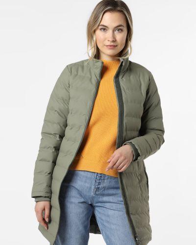 Zielony płaszcz pikowany Derbe