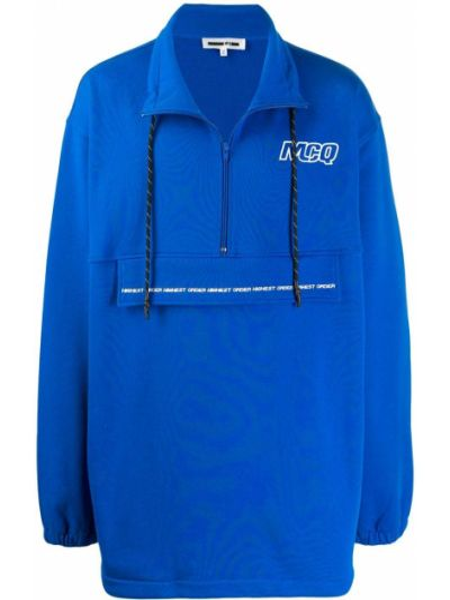 Bluza dresowa - niebieska Mcq Alexander Mcqueen