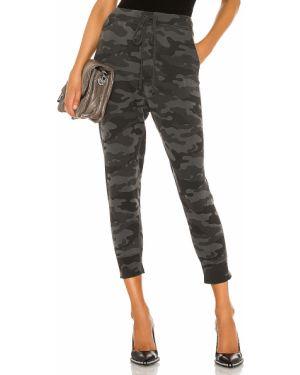 Spodnie z kieszeniami kamuflaż Nili Lotan