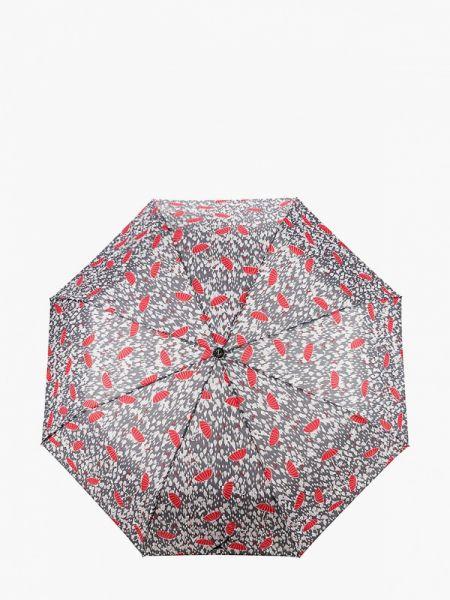 Зонт серый складной Zemsa