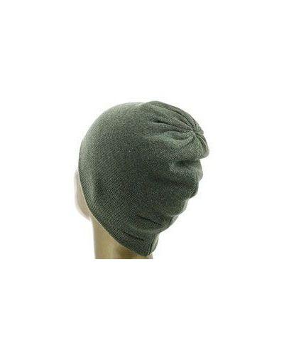 Зеленая шапка Not Shy