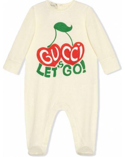 Bawełna bawełna piżama z długimi rękawami okrągły Gucci Kids