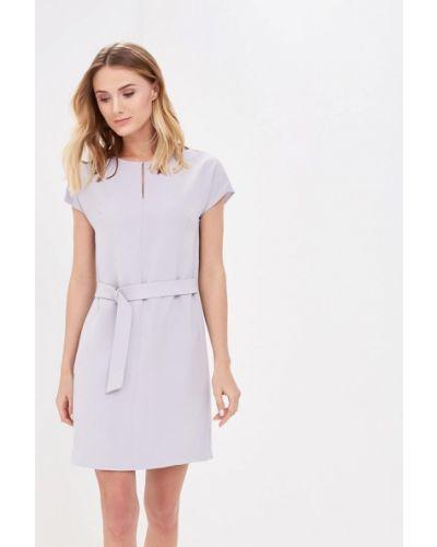 Серое платье весеннее Lusio