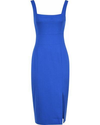 Платье из спандекса - синее Elliatt
