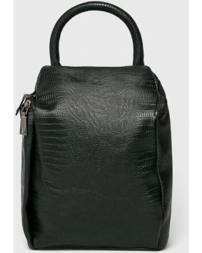 Черный кожаный рюкзак Answear