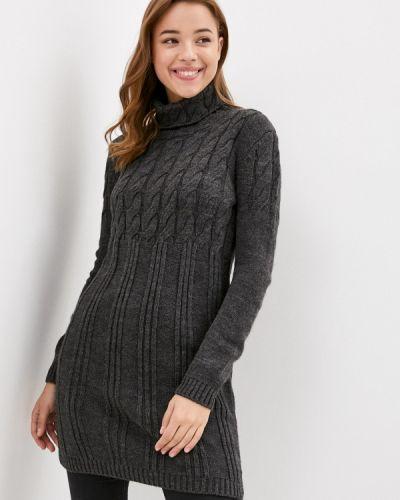 Вязаное серое платье Jimmy Sanders