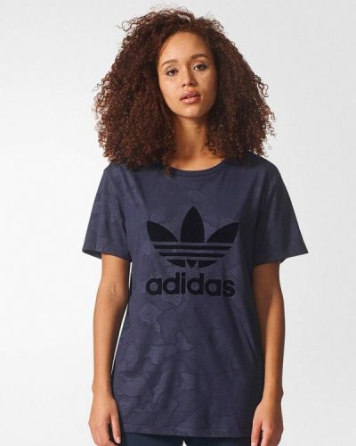 Серое поло Adidas Originals