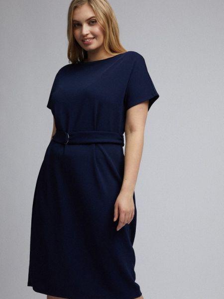 Повседневное платье синее весеннее Dorothy Perkins Curve