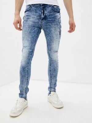Синие зимние джинсы Terance Kole